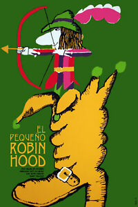 1121-Cuban-movie-Poster-Powerful-Graphic-Design-ROBIN-HOOD-Children-Room-Decor