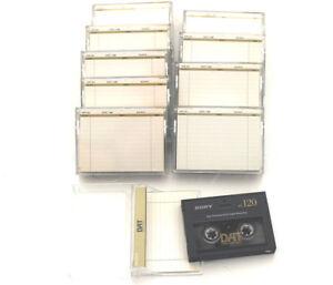 120 Minuten WunderschöNen 10x Sony Dt120 Dat Tapes Guter Zustand Good Condition Dt-120 #2