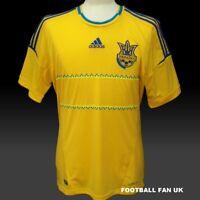UKRAINE Adidas Home Shirt 2012/13 NEW S,M,L,XL,XXL Jersey 12/13 Football Soccer