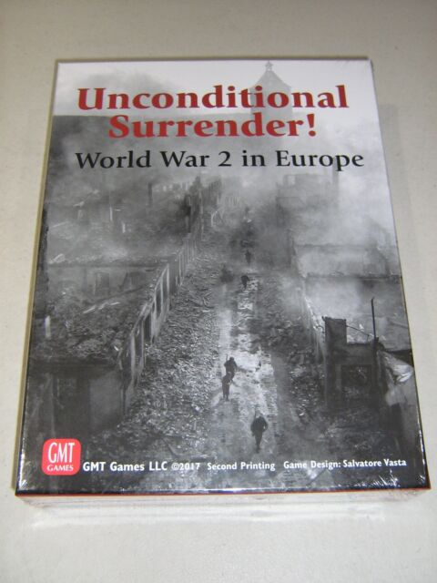 Unconditional Surrender 2nd Printing (New)