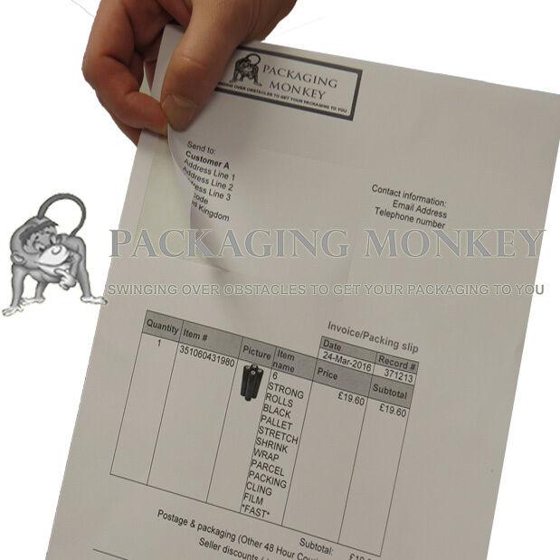 Feuilles a4 de de a4 haute qualité des étiquettes intégrées - 110x80mm-Peel Off étiquettes d'adresse 1c0cdb