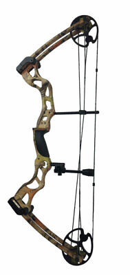 ASD Black Pro Series Adult Archery Compound Bow 70lbs ** COMPLETE PACKAGE **
