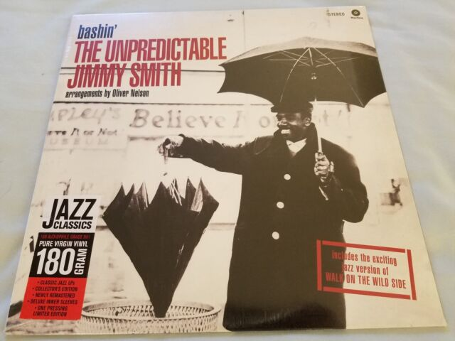 JIMMY SMITH - Bashin' NEW/SEALED 180gram LIMITED EDITION Jazz Bop (LP)