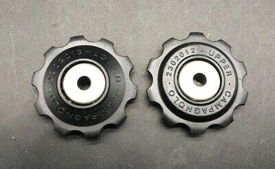Campagnolo eroica NOS NUOVE Super Record Rear Pulegge Jockey Pulley Wheels