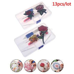 Magic-DIY-Embroidery-Pen-Knitting-Sewing-Tool-Kit-Punch-Needle-Set-Threads-YK