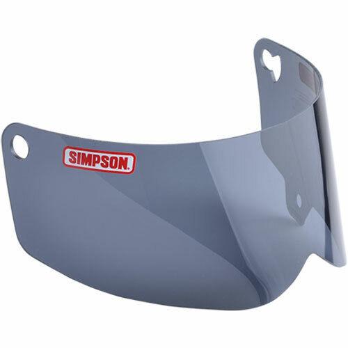 Simpson Outlaw Bandit Dark Smoke Shield Motorcycle Visor Medium//Large Pre2017