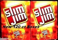 Slim Jim Smoked Snacks 240 Ct Two Pack