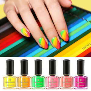 BORN-PRETTY-6ml-Fluorescence-Nail-Polish-Summer-Series-Orange-Nail-Art-Varnish