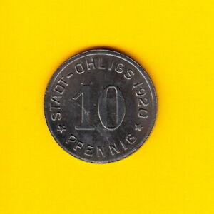 10-Pfennig-Ohligs-1920-Notgeld-tolle-Erhaltung
