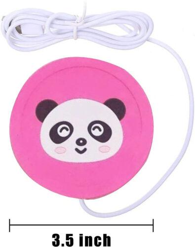 FUN Silicone USB Coffee Tea Cup Mug Warmer Pad Electric Heating Coaster