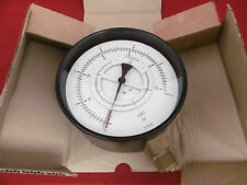 VDO Differenzdruck Manometer 0-6bar 2xG1/2A Ø160 mm 2635.074.001