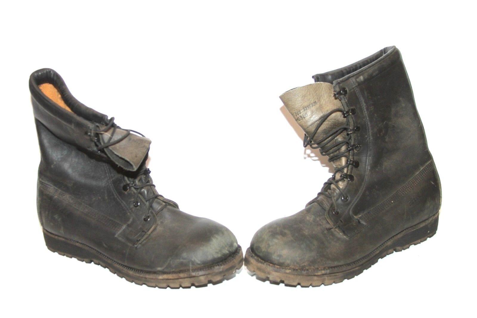 Mens Belleville 287 107 Gore-Tex Black Leather Combat Boots SZ 10.5w Steel Toe