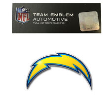 Promark New NFL San Diego Chargers Color Aluminum 3-D Auto Emblem Sticker Decal