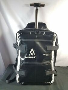 Rare Volkl Hideo Design Backpack Carry On Roller Case By Hideo Wakamatus Japan Ebay