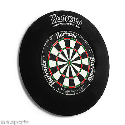 HARROWS DARTBOARD SURROUND DOUBLE SIDED WALL PROTECTOR