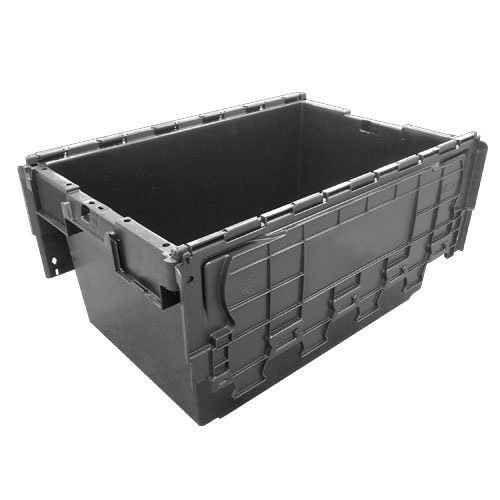 10 Large Used Plastic Removal Storage Crates Box Container - 80 Litres.