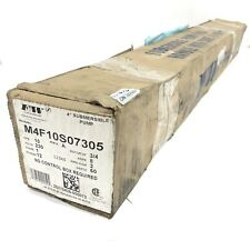 Fampw 10 Gpm 230 V 34 Hp 2 Wire 4 In Submersible Well Pump 12 Stage M4f10s07305
