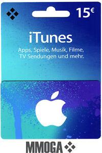 Itunes 15 Eur Gutschein Key 15 Euro Apple Guthaben Code F De