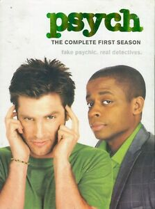 Psych-Season-2-4-DVDs-Region-1-amp-4-Very-Good-Aust-Seller