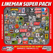 Lineman 64 Hard Hat Stickers Hardhat Sticker Linemen Electrician Reddy Ibew