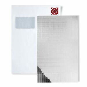 1 Modèle Pièce Wallface S-10639-sa Din A4 | Wandpaneel Motif Silver 10x10-afficher Le Titre D'origine