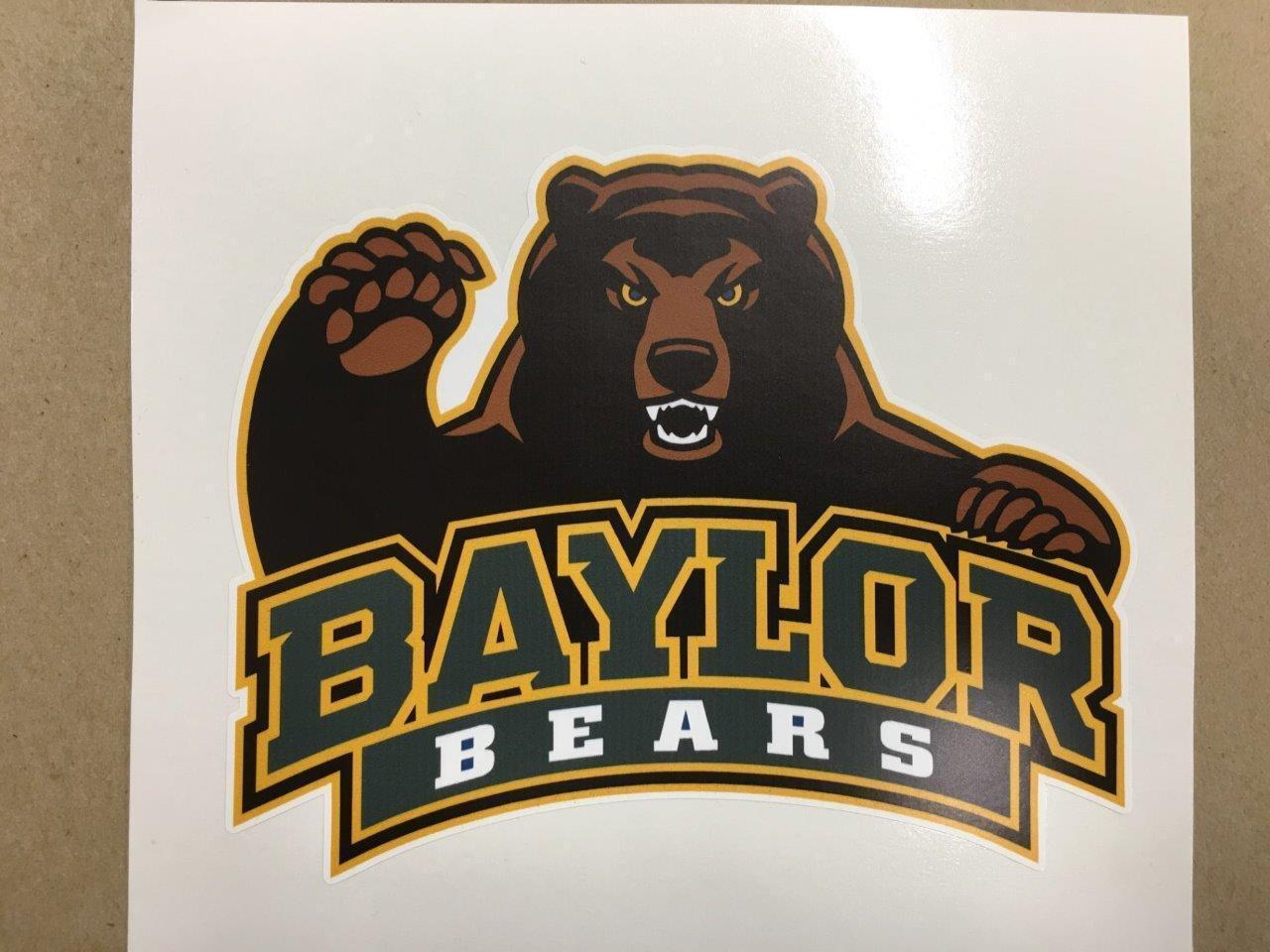 Baylor Bears cornhole board or vehicle decal(s)BB1