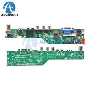 V29 Universal LCD TV Controller Board TV Motherboard VGA/HDMI/AV/TV/USB New