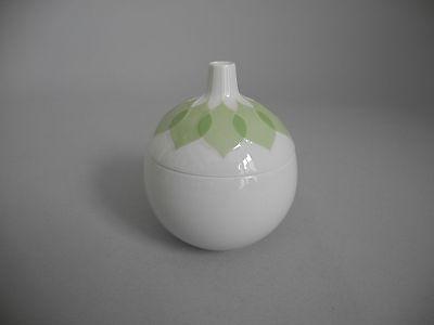 Rosenthal Lotus grün Zuckerdose mit Deckel