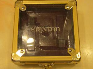 STANTON-FLIGHT-CASE-GOLD-SUITABLE-GROOVEMASTER-TRACKMASTER-DISCMASTER-CARTS