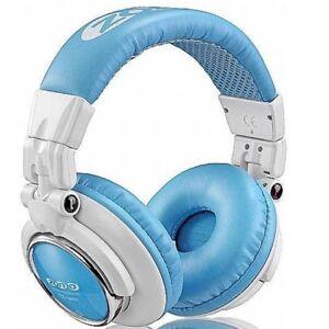 cuffia-ZOMO-HD-1200-blue-white-no-wesc-ottima-per-DJ-Mp3-iPod-NUOVO