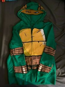Teenage Mutant Ninja Turtles Raphael Costume NWT Adult Small Hoodie Sweatshirt