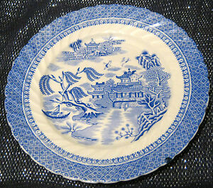 Cauldon-Semi-China-tea-plate-Ching-pattern-approx-7-1-4-inches-diameter