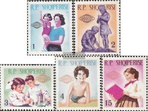 Albanien-949-953-kompl-Ausg-postfrisch-1965-Intern-Kindertag