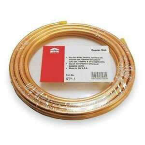 """Mueller Industries 656R 1/2"""" Od X 50 Ft. Coil Copper Tubing Type Acr"""