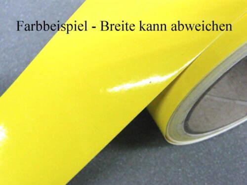 Zierstreifen 8 mm gelb 730 glänzend Zierlinie Dekorstreifen Warnstreifen