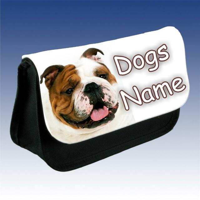 British Bulldog Dog Grooming Bag Personalised With Your Dogs Name