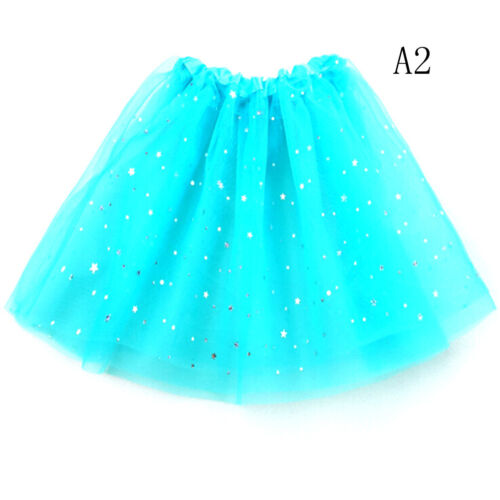 Baby Star Glitter Dance Tutu Skirt For Girl Tulle Toddler Lace Chiffon YGZY