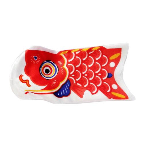 15cm Koinobori Kite Children/'s Day Red Carp Streamer Windsocks Koi Nobori