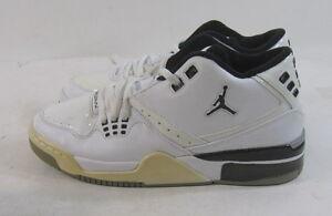 fba1c397987a76 Nike Air Jordan Flight 23 317821-114 White Black Metallic Silver ...