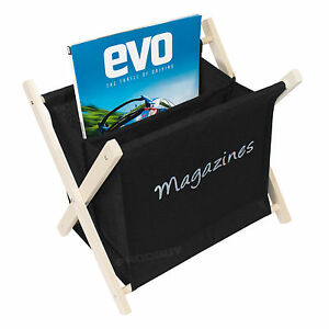 newspaper rack for office. Image Is Loading Fabric-Wooden-Folding-Magazine-Storage-Rack-File-Holder- Newspaper Rack For Office E