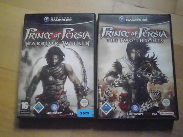 Nintendo GameCube Game Cube: Prince of Persia: The Two Thrones top Zustand kpl.