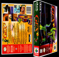 Gex 3 - N64 Reproduction Art Case/box No Game.
