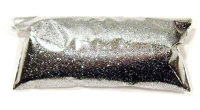 "1oz / 30ml Chrome Silver Metal Flake .008"" Custom Auto Paint Additive - LF201"