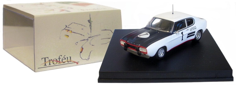 Trofeu 2313 ford capri 2600 rs paul ricard 1971-g hill j surtees échelle 1 43