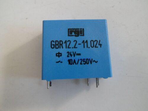 NUOVO DDR RGI GBR 12.2-11.024 24v = 10a//250v ~ relè * 1 pezzi *