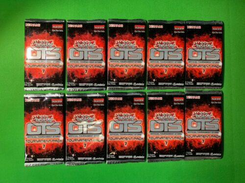 x10 Yu-Gi-Oh SEALED OTS Pack 7 Official Tournament Store Pack Brand New x10