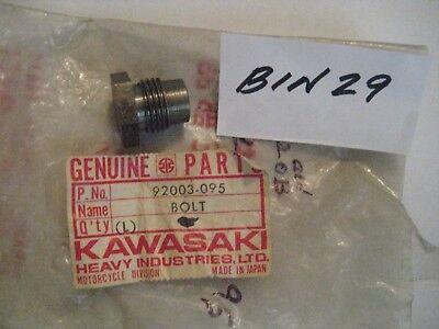 KAWASAKI KZ750 KZ900 Z1 Z1R KZ1000 LTD CSR 6X34mm OIL PAN FLANGE BOLT 92003-159