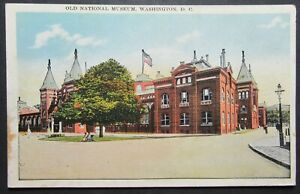 Old-National-Museum-Washington-DC-Vintage-View-Postcard-Unposted