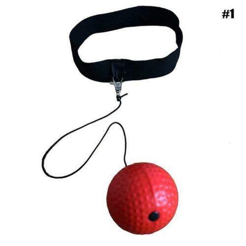 Fight Ball Reflex Boxing Trainer Boxer Speed Punch Head Cap High-quality UK