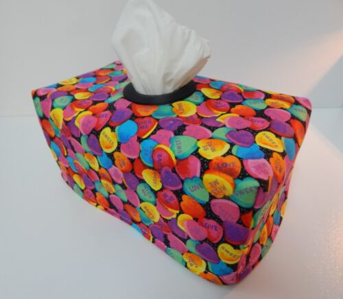 Lovely Gift Retro Sweet Heart Candy Tissue Box Cover With Circle Opening